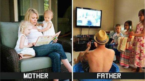 Education : Papa VS Maman
