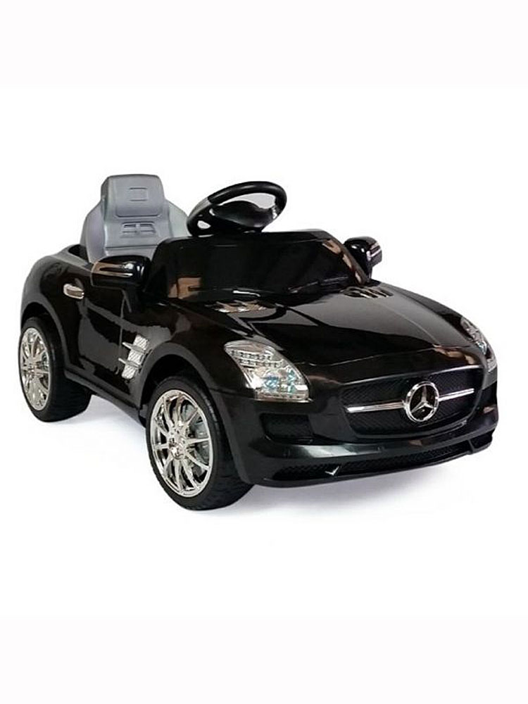 voiture lectrique 12v mercedes sls amg noire. Black Bedroom Furniture Sets. Home Design Ideas
